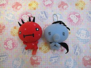 2-4-1! San-X Atsugari San - Hot & Cold Fairies - Plush Mascot Set 2