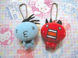2-4-1! San-X Atsugari San - Hot & Cold Fairies - Mini Plush Mascot Set