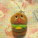 Gladee Inc. Mini Burger Plush Mascot Charm