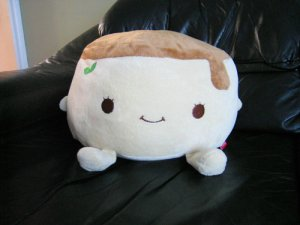 Happy Pudding Sugar Coconut Purin Plush (Large)