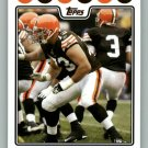 JOE THOMAS 2008 TOPPS #281 Cleveland Browns Wisconsin