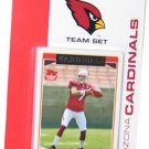 2006 Arizona Cardinals Topps set (12) Fitzgerald Warner