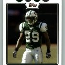LEON WASHINGTON 2008 TOPPS #105 New York Jets NFL