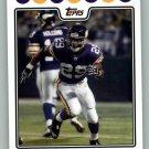 CHESTER TAYLOR 2008 TOPPS #90 Minnesota Vikings NFL