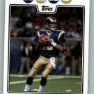 Marc Bulger St. Louis Rams NFL 2008 TOPPS #33