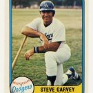 STEVE GARVEY 1981 FLEER #110 Los Angeles Dodgers Padres