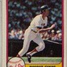 DWIGHT EVANS 1981 FLEER #232 Boston Red Sox MLB