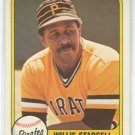 WILLIE STARGELL 1981 FLEER #363 Pittsburgh Pirates MLB