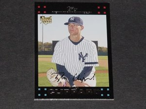 TYLER CLIPPARD 2007 TOPPS UPDATE #152 ROOKIE Yankees