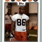 MARTIN RUCKER 2008 TOPPS #382 Cleveland Browns