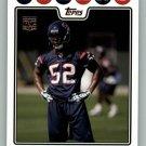 XAVIER ADIBI 2008 TOPPS #419 Houston Texans NFL