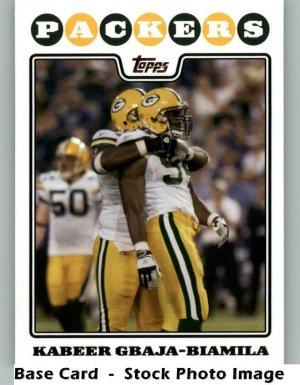 KABEER GBAJA-BIAMILA 2008 TOPPS #220 Green Bay Packers