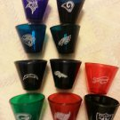 NFL Mini Acrylic Cup Football random Team sports Game Denver Oakland Minnesota