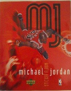 1998 Michael Jordan Sticker Album Collection Random Basketball sports cards golf