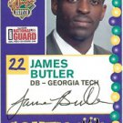 2005 Senior Bowl James Butler Georgia Tech sports cards football