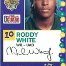 2005 Senior Bowl Roddy White Atlanta Falcons cards NFL