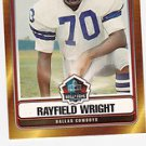 2006 Topps Hall of Fame Rayfield Wright Dallas Cowboys Football Cards Sports hot