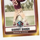 2006 Topps Hall of Fame Sammy Baugh Washington Redskins Football Cards Sports