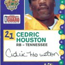 2005 Senior Bowl Cedric Houston Tennessee sports cards