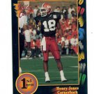 1991 Wildcard Henry Jones Illinois sports cards college football ncaa nfl
