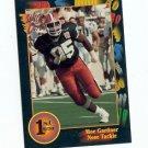 1991 Wildcard Moe Gardner Illinois sports cards football