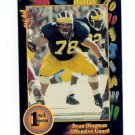 1991 Wildcard Dean Dingman Michigan Wolverines sports cards football college