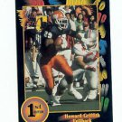 1991 Wildcard Howard Griffith Illinois sports cards football denver broncos