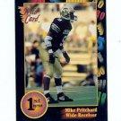 1991 Wildcard Mike Pritchard Colorado Buffaloes sports cards football