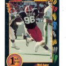 1991 Wildcard Mel Agee Illinois sports cards football