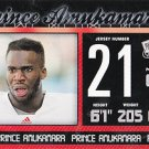 2011 Press Pass Prince Amukamare #21 Football Cards sports New York Giants Hot