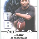 2011 Sage Hit Jamie Harper sports cards football popular NFL Clemson Titans play