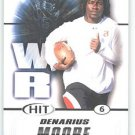 2011 Sage Hit Denarius Moore #87 sports cards football popular NFL Tennessee