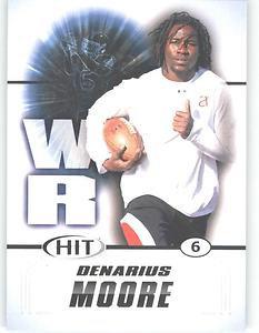 2011 Sage Hit Denarius Moore #87 sports cards football popular NFL Tennessee