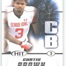 2011 Sage Hit Curtis Brown Texas Longhorns Sports cards Football popular NFL