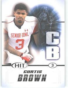 2011 Sage Hit Curtis Brown Texas Longhorns Sports cards Football popular NFL