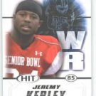 2011 Sage Hit Jeremy Kerley TCU Horned Frogs Rose cards