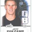 2011 Sage Hit Jeff Van Camp Florida Atlantic sports cards football popular NFL