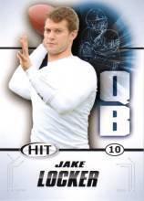 2011 Sage Hit Jake Locker Washington Huskies sports cards football popular NFL