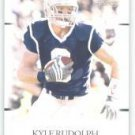 2011 Sage Hit Artistry Kyle Rudolph Notre Dame cards