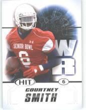 2011 Sage Hit Courtney Smith South Alabama sports cards football popular plays