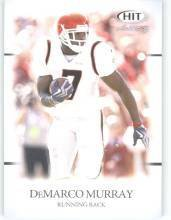 2011 Sage Hit Artistry DeMarco Murray Oklahoma cards