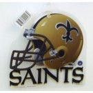 NFL NCAA Window Cling Texas Saints Colts Auburn Tigers Football ** Vintage Brees