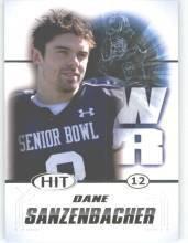 2011 Sage Hit Dane Sanzenbacher Ohio State Sports Cards Football popular NFL
