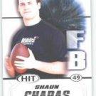 2011 Sage Hit Shaun Chapas Georgia Bulldogs sports Cards football popular NFL