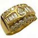 DIAMONDS 18K YELLOW GOLD RING