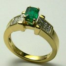 Incredible Colombian Emerald & Diamond Ring 1.80tcw