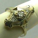 Edwardian Diamond Ring .30PTS