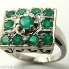 Vintage Colombian Emerald & White Gold Ring 2.10cts