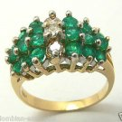 COLOMBIAN EMERALD & DIAMOND RING 2.40 CTS
