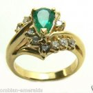 MAGNIFICENT COLOMBIAN EMERALD RING 1.80 CTS